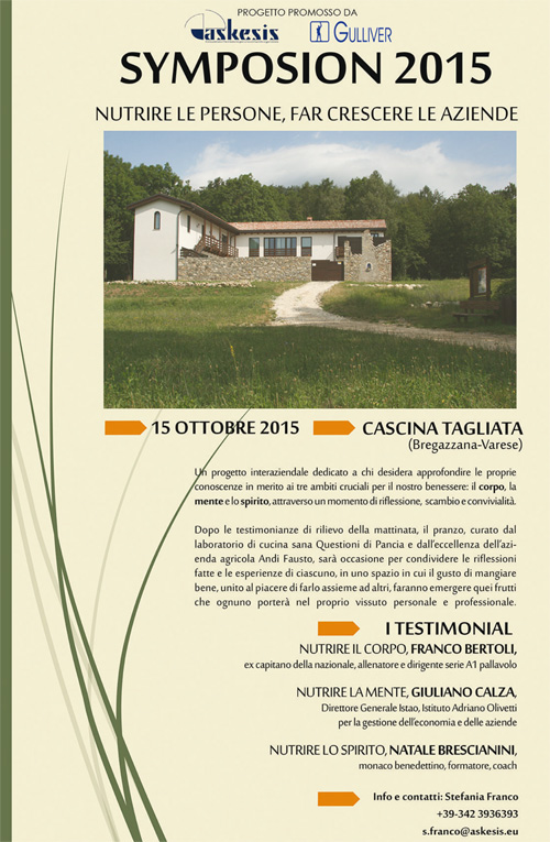 Franco Bertoli - Symposion 2015