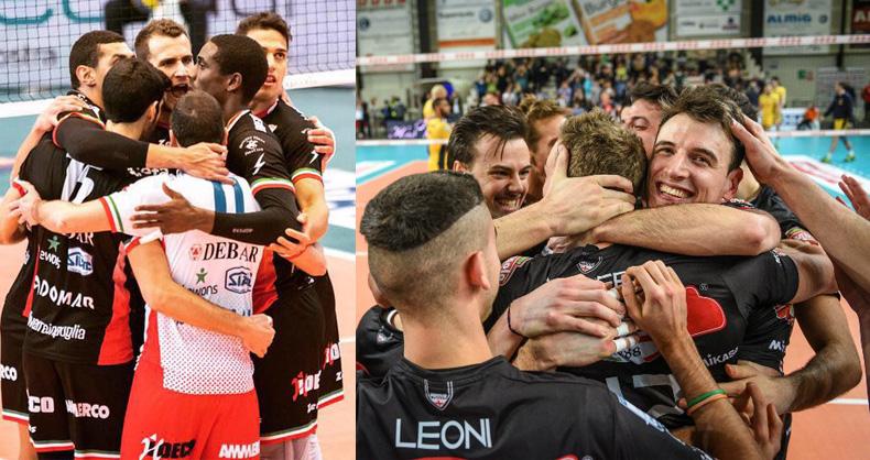Tonazzo Padova e Exprivia Molfetta, exploit playoff SuperLega Unipolsai volley 2016