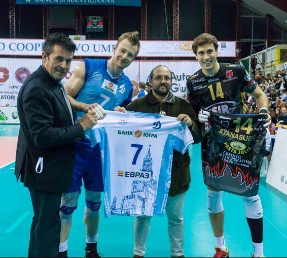 Challenge round - Home match. 2016 CEV Volleyball Cup - Men. PalaEvangelisti Perugia IT, 18.02.2016