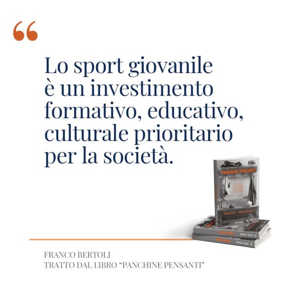 Panchine Pensanti Mancanti. Quanto vale la cultura sportiva giovanile?